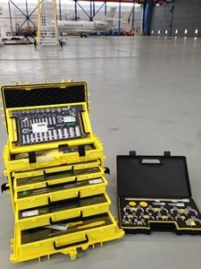 Tool Trolley for Trent and GE Engine AOG Change